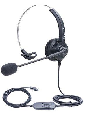 抗噪單耳行銷耳機,可調音跟靜音,台灣出貨,適用銀行車貸及生技電銷