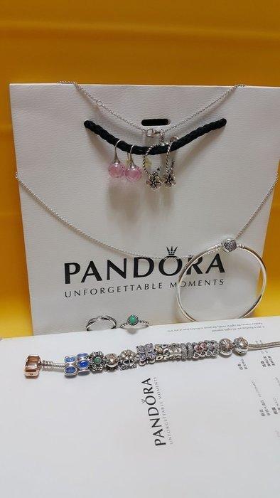 PANDORA潘朵拉銀飾品(保證真品)歡迎面交丹麥鐲品 台灣購買~附專櫃購買證明