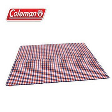 【山野賣客】Coleman 紅格紋刷毛地毯 露營│旅遊│ CM-26532