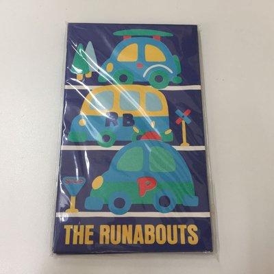 日本製 SANRIO THE RUNABOUTS 小信封 1套8個連8個貼紙 1989生產 #1