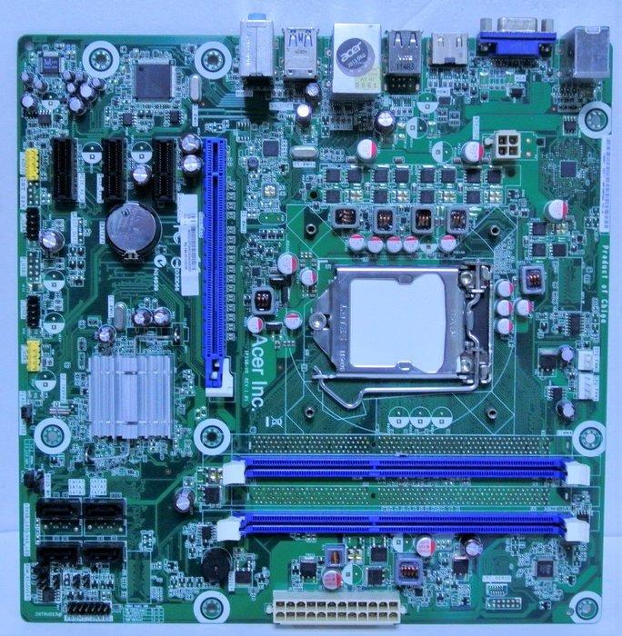 ~ 駿朋電腦 ~ ACER宏碁 IPISB-VR / 1155主機板 / DDR3 / 顯示 $600