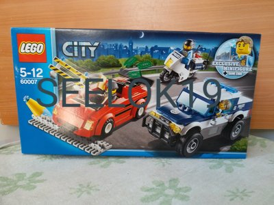 LEGO 60007 High Speed Chase (MISB)