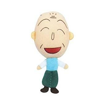 41+現貨不必等 日本進口 正版授權 櫻桃小丸子 絨毛 玩偶娃娃 磁鐵 友蔵 爺爺  3D布偶 小日尼三 批發零售