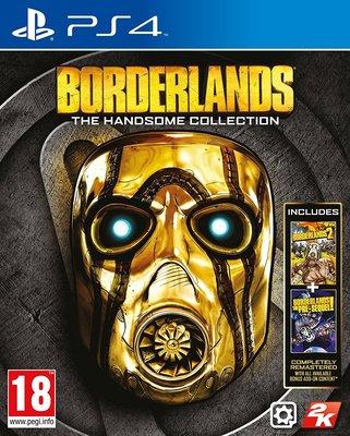 全新未拆 PS4 邊緣禁地 帥氣合輯(二代+前傳+所有DLC) -英文版- Borderlands Handsome