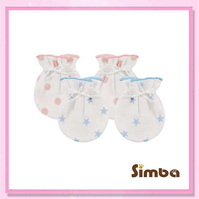 <益嬰房>小獅王辛巴 極柔感印花紗布護手套(繫帶)S7026 嬰兒手套