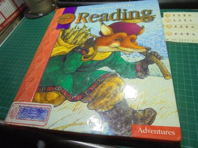 美國小學英文課本發音繒本讀本ESL reading 2.1 adventures HM 2008年版伅25下美美書房