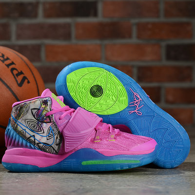 Kyrie 6 EP 厄文6代 Kyrie Irving籃球鞋 訓練鞋 玫紅藍灰
