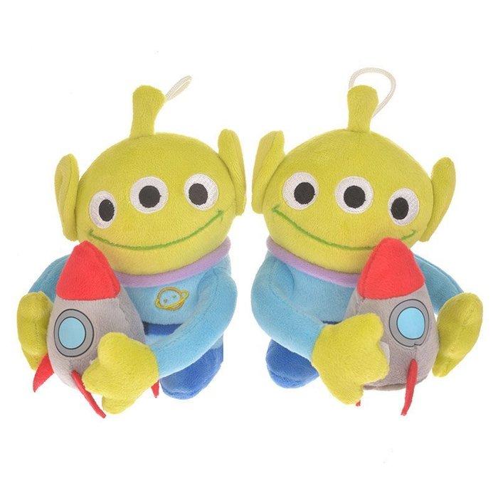代購現貨  日本迪士尼商店玩具總動員 三眼怪窗簾夾1對