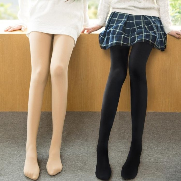 春秋冬連褲襪女黑色肉色防勾絲襪中厚薄款長筒襪子外穿美腿打底襪