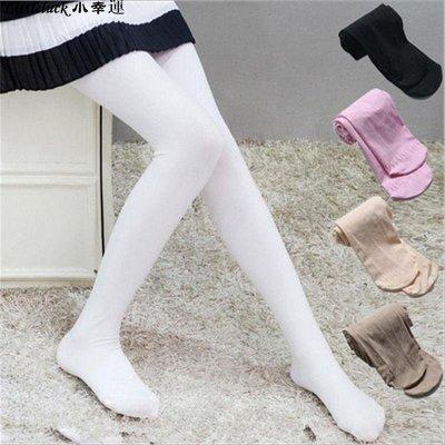 童裝洋氣夏季新款2019天鵝絨時尚兒童薄款舞蹈襪女童打底褲白色連褲襪