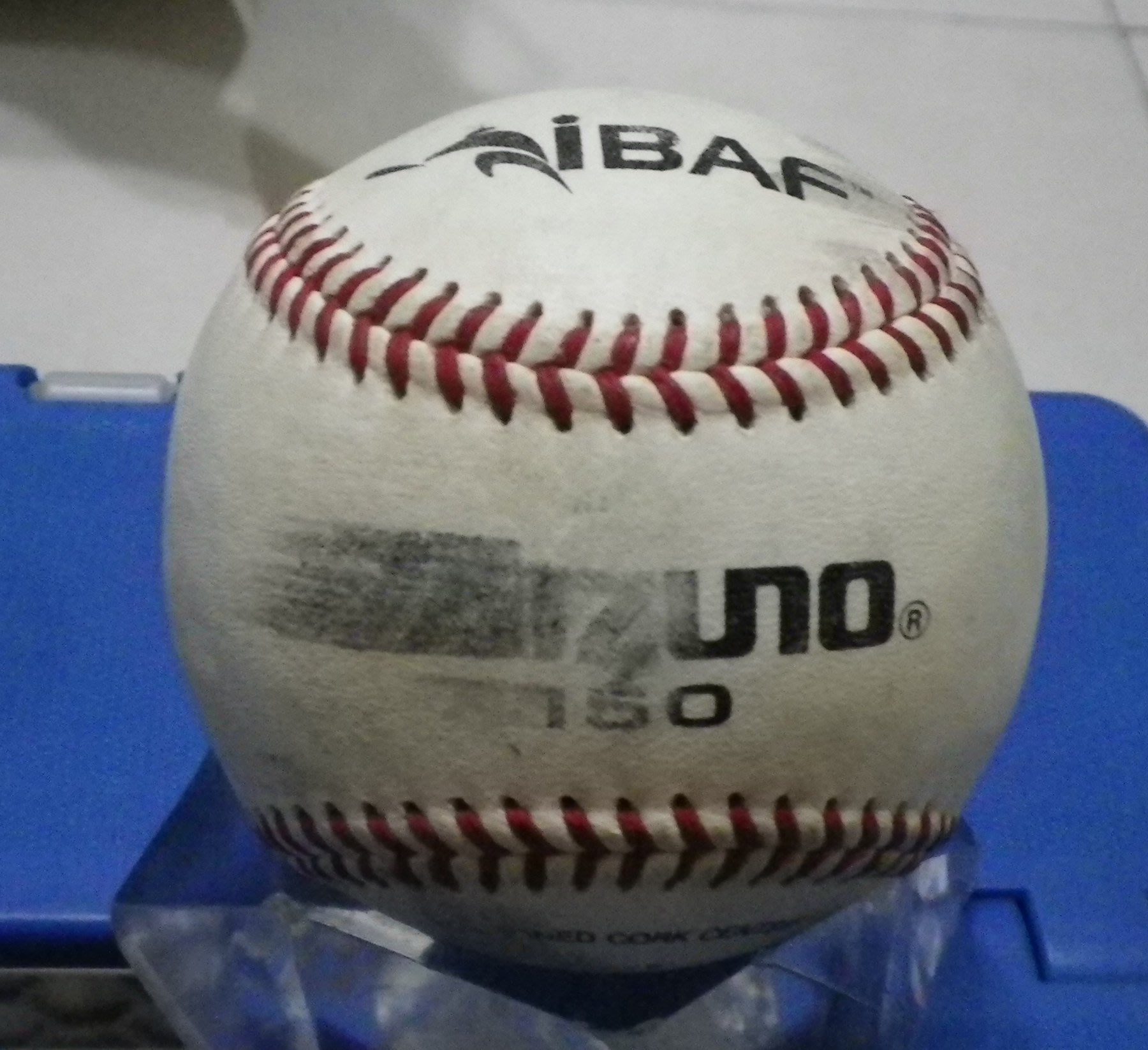 棒球天地--賣場唯一---2007末代洲際盃實戰比賽用球.只有1顆