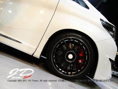 JD-MOTORS Alphard實裝-日本RAYS VARIANCE V.V.10M(VK) 20吋 鑄造單片式輪圈