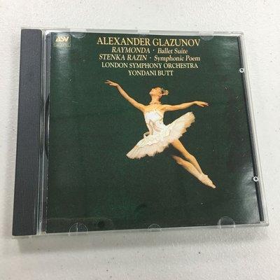 Alexander Glazunov:RAYMONDA  L.S.O / YONDANI BUTT  收藏 CD