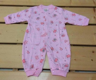 兔衣長袖嬰兒BABY寶寶 點點小熊款兔衣 棉 四季款 冷氣房 混購4 1件免