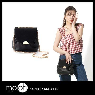 時尚金屬兩用肩背鏈條小包 mo.oh (包包配件)