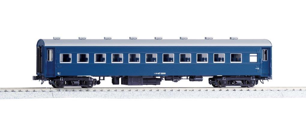 [玩具共和國] KATO 1-553 (HO)オハ47 ブルー 改装形