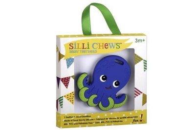 【魔法世界】美國 Silli Chews 章魚歐力咬牙器/固齒器 SC-3