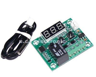 【UCI電子】(D-2) W1209貼片版溫控器高精度數顯溫度控制器溫控開關孵化溫控器 12V 5V