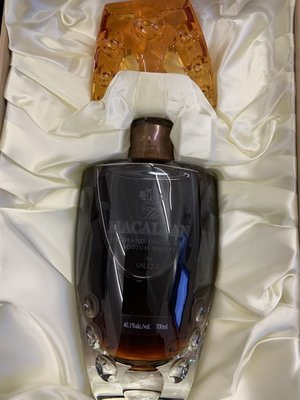 麥卡倫 macallan Lalique 璀璨55year700ml