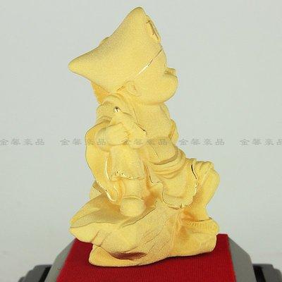 【預購】小濟公佛像 工藝品創意 家居裝飾品黃金擺件禮品開業祈福納福