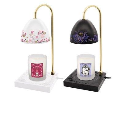 全新現貨7-11 ANNA SUI X Hello Kitty 暖燭燈附香氛蠟燭 香氛蠟燭檯燈 蠟燭 檯燈(神秘黑)