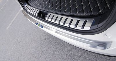 ~歐力車飾~凌志 LEXUS NX200t NX300h 後護板 NX200t 後防刮板 NX300h 防刮板 不鏽鋼