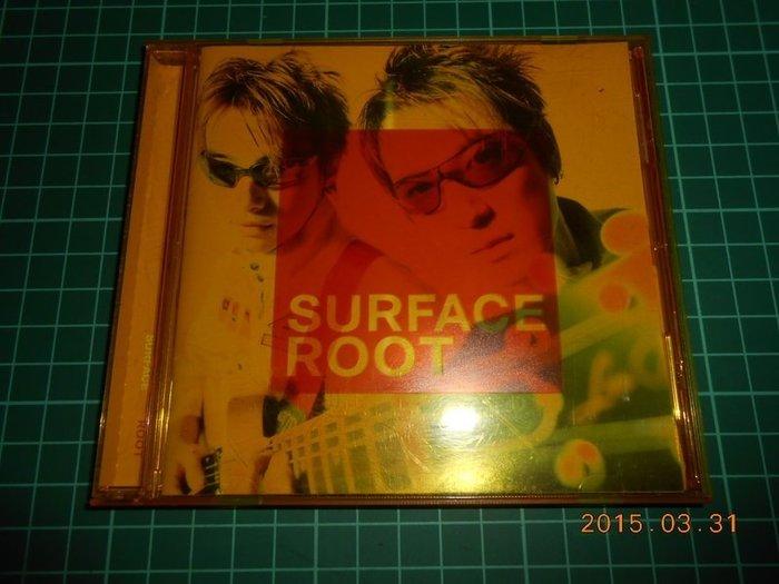 《原版二手CD~SURFACE ROOT》附歌詞,側標【CS超聖文化2讚】