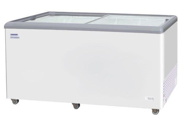 HiRON 海容 【HSD-650】 650公升 弧形玻璃推拉冷凍櫃~運送每一區域~運費另計