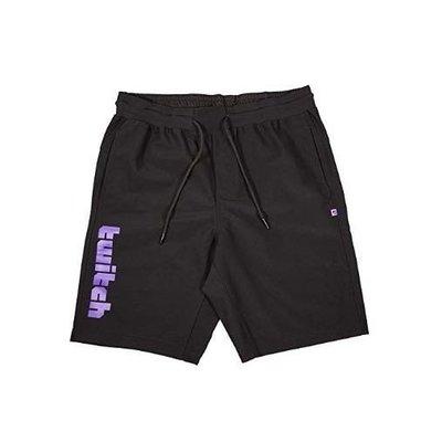 正版twitch短褲 正版twitch twitch twitch短褲 twitch褲子 圖奇