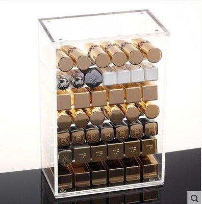 【優上】透明亞克力化妝品收納盒 口紅小樣唇彩唇釉睫毛膏彩妝桌面「單款不帶門」