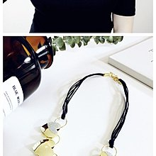 耳飾韓國項鏈女短款鎖骨韓版時尚黑色正方形磨砂蕾絲復古多層頸鏈頸帶