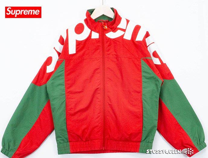 【超搶手】全新正品 2019 秋冬Supreme Shoulder Logo Track Jacket 運動外套S M