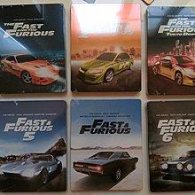 (全新未拆封) 玩命關頭 1-6集 六獨立限量鐵盒版 Fast And Furious 藍光BD
