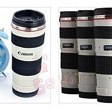 【新視界生活館】創意鏡頭杯 佳能canon EF 70-200mm 4L 小小白 鏡頭杯子 小白鏡頭 咖啡杯 不鏽鋼保溫杯