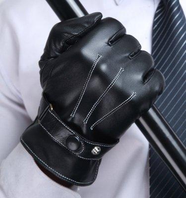『老兵牛仔』CK-5058秋冬季防寒加厚保暖小羊羔皮手套/男手套/時尚/羊皮手套/個性