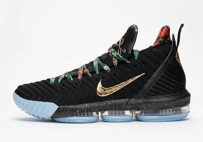 "Nike LeBron 16 ""Watch The Throne"" CI1517-001 詹姆士大帝 全明星賽 男鞋"