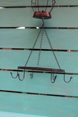 ZAKKA糖果臘腸鄉村雜貨坊     雜貨類..日式環狀吊飾架.掛飾架.陳列架(盆栽架廚房吊架鄉村娃娃會場佈置攝影道具)