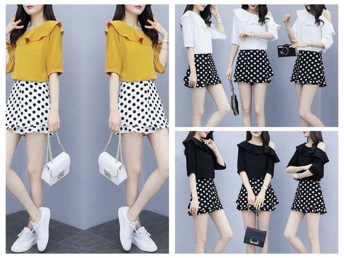 貓姐的團購中心~F0569 時尚網紅小個子搭配顯高兩件套~3種顏色~S-2XL一套520元~預購款