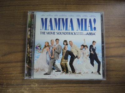 ◎MWM◎【二手CD】MAMMA MIA! THE MOVIE SOUNDTRACK 光碟台版 中文及原文介紹本