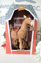 【Sunny Buy 玩具館】◎現貨◎ 迪士尼 16吋 玩具總動員 聲控公仔Woody's Bullseye 胡迪紅心馬
