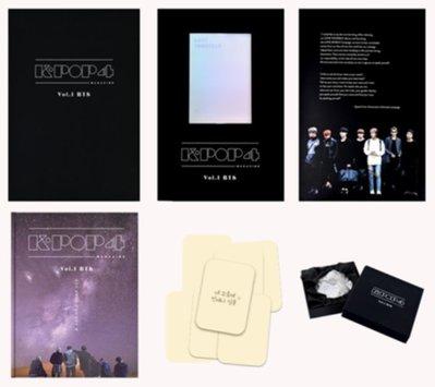 🔊K-POP 4 MAGAZINE VOL.1 BTS, Samsung Special Package🔊