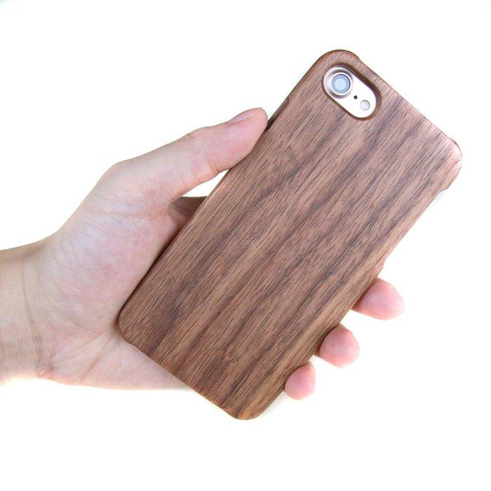 木入三分。I Phone 7 實木手機殼