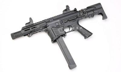 台南 武星級 SRC FALCON-Z 9mm M4 衝鋒槍 電動槍 ( BB槍M16MP5狙擊槍UZI衝鋒槍M4卡賓槍