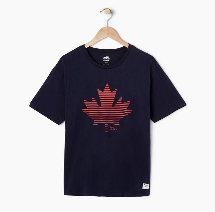 ~☆.•°莎莎~*~☆~~加拿大ROOTS Mens Setting Maple T-shirt  棉T ~