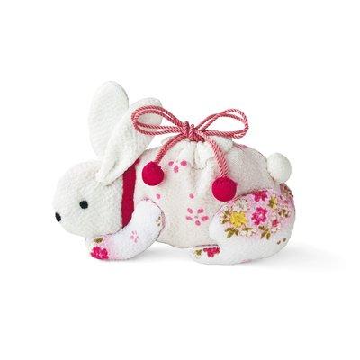 日式縐布小物隨身小提袋 材料組 -白兔❤EZ樂活手作❤