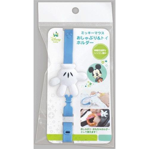 【東京速購】迪士尼 Disney 米奇 嬰兒 奶嘴鏈 奶嘴夾 玩具鏈 奶嘴夾