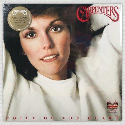 [英倫黑膠唱片Vinyl LP] 木匠兄妹合唱團/心聲 Voice Of The Heart / Carpenters