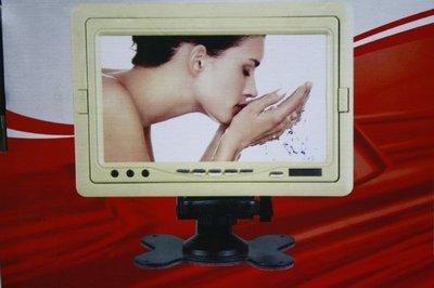 {特惠中} 9吋 LED 高清監控 液晶顯示器 (HDMI/VGA/AV) 監視器專用瑩幕 監控銀幕 汽車用顯示器