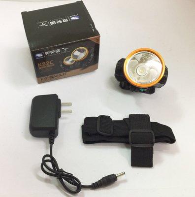 探照燈 頭戴式手電筒 / LED燈強光大功率 / 可充電鋰電池 / 戶外多功能頭燈 / 釣魚夜騎露營