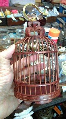 大草原典藏,紅木小鳥籠,特價一天